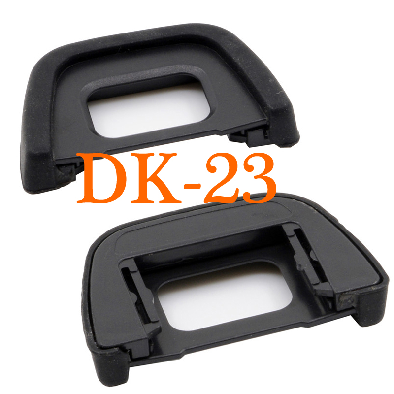 2pcs DK-23 New DK 23 Rubber EyeCup Eyepiece For NIKON D600 D610 D700 D7000 D7100 D7200 D90 D80 D70S D70 D70S D60 wired remote shutter release for nikon d80 d70s 98cm length