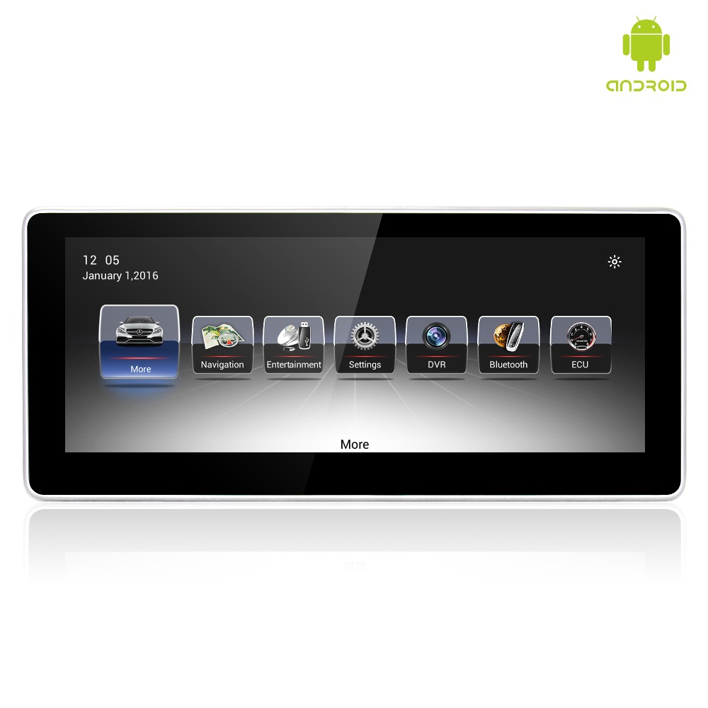 MERRYWAY 2016 2017 For Benz GLA / A/ CLA / GLK / W176/X156 / W204/ X204 10.25'' Android DVD Multi media gps Navigation Player