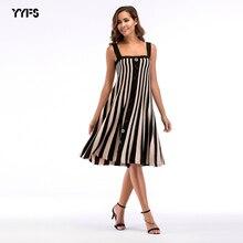 Обтягивающее платье, открытая спина в полоску пряжкой, трикотажный, большой свободное платье, большой Размеры Женская одежда