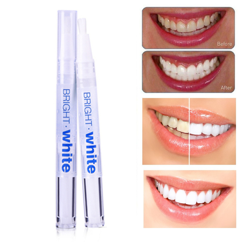 UCANBE 1pcs Teeth Whitening Peroxide Gel Tooth Cleaning Bleaching Kit Dental Bright White 2.5ml Teeth Whitening Pen Blanqueador