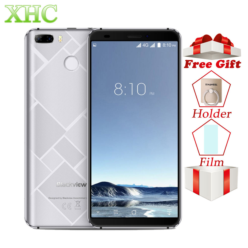 Blackview S6 Smartphones 2GB 16GB 18:9 Full Screen 5.7 720*1440 MTK6737 Quad core Android 7.0 Dual SIM GPS OTG OTA Mobile Phone