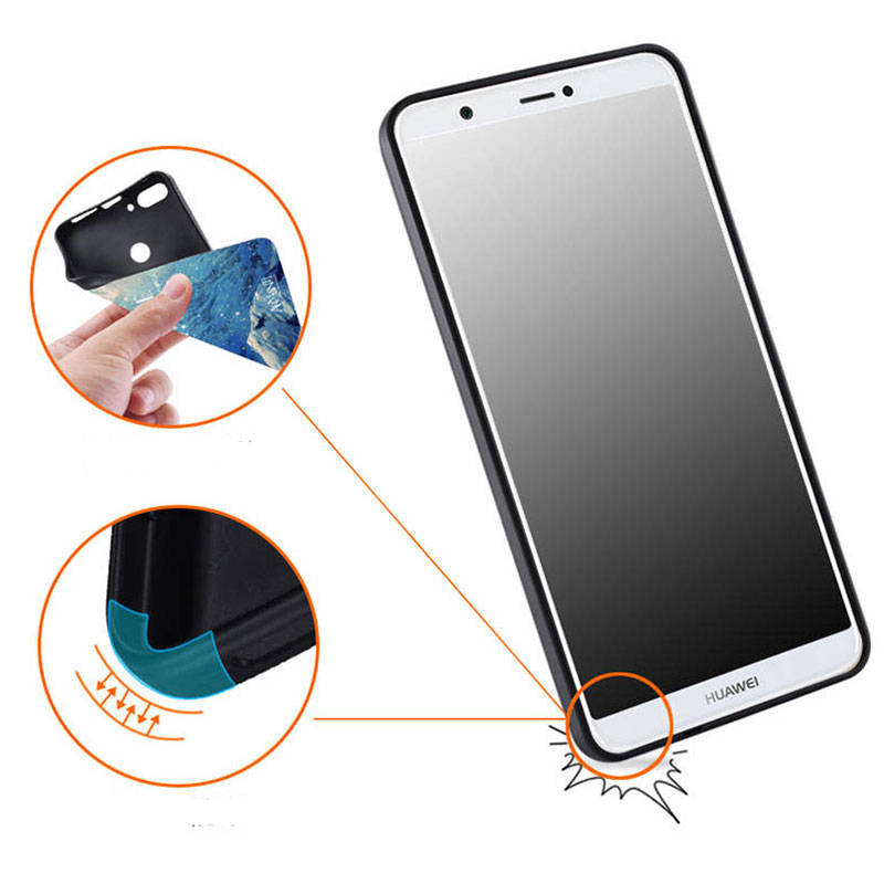 For Huawei P Smart Case Huawei P Smart Cover 565\