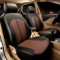 Custom Fit Seat Cover Sets PU Leather For Toyota Camry 2012 Accessories Car Seat Cover For
