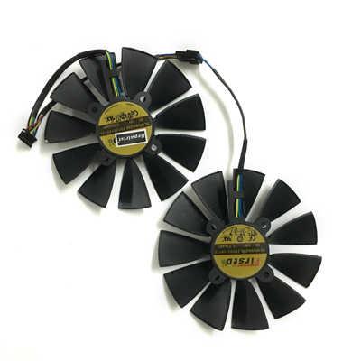 R9 380 380X gpuクーラーvgaファンのためのasus STRIX-R9380 STRIX-R9 380Xビデオグラフィックスカード冷却