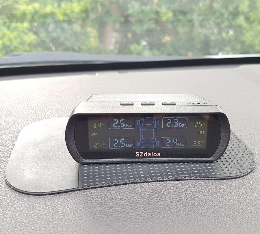 SZDALOS TP400 Солнечная система tpms автомобильных шин система контроля давления
