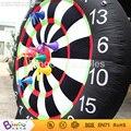 Venda quente jogos de tabuleiro de dardos jogo de dardos inflável inflável 7.2Ft./2.2 M alta inflável engraçado brinquedo game-BG-A0947-2