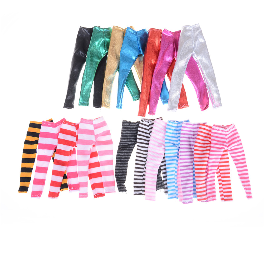 3Pcs/lot Doll Socks Pantyhose Cotton Stockings Available For Blyth Licca Dolls Accessories Colorful Stockings