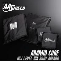 AA щит пуленепробиваемые мягкие Панель Средства ухода за кожей Панцири Подставки плиты арамидных core самообороны питания nij LVL IIIA 3A 11X14 (2) 6x6 (2)