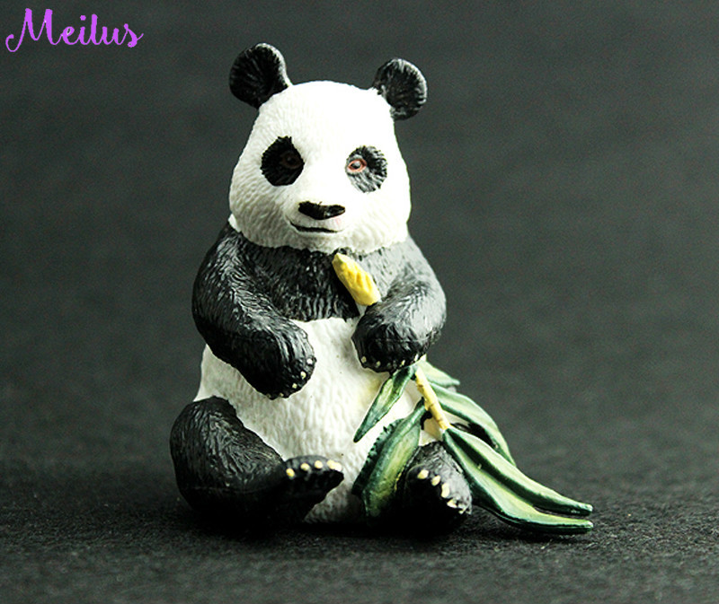 Toys Collection Action-Figure Animal-Model Birthday-Gift PVC 10cm Panda Children