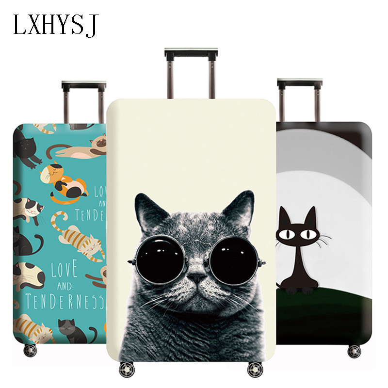 LXHYSJ Animal Pattern Luggage Cover Elastic Luggage Protective Covers Suitable For 18-32 Inches Suitcase Case Travel Accessories
