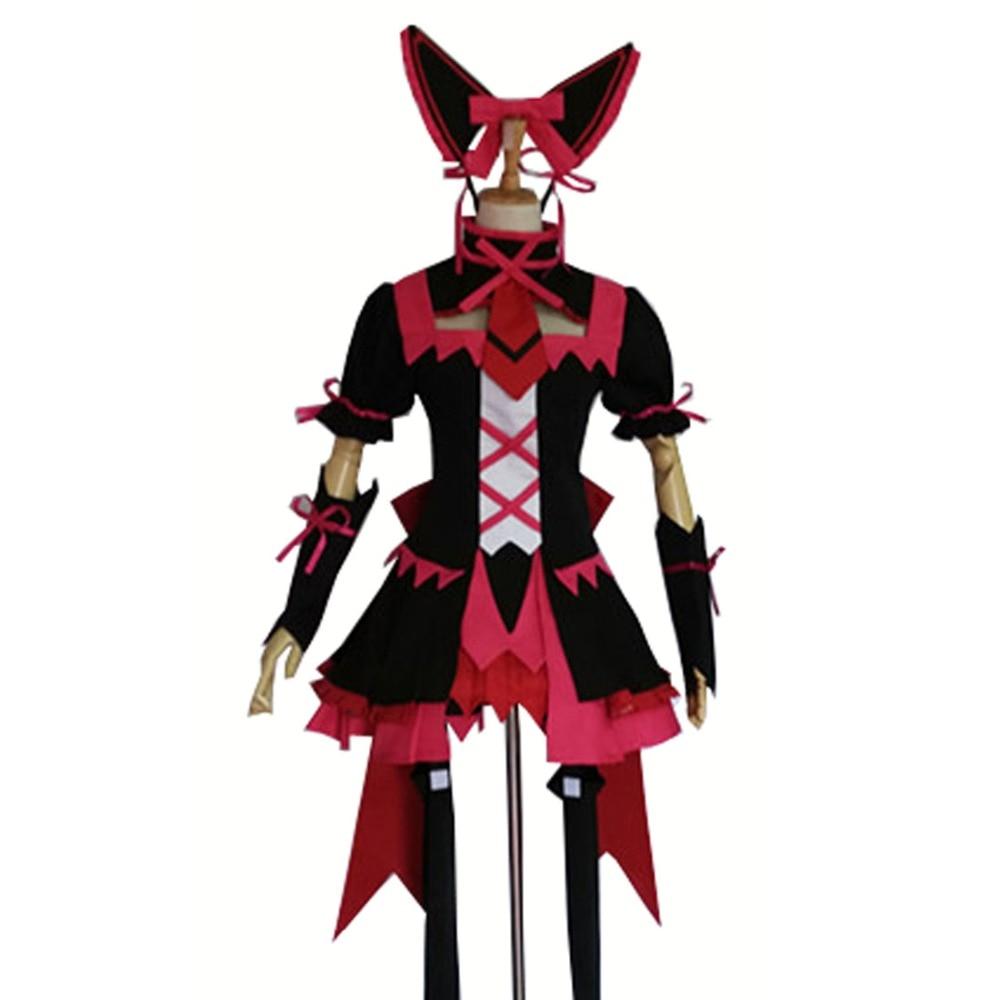 2017 Anime porte Jieitai Kano Chi nite, Kaku Tatakaeri Rory Mercury Cosplay Costume robe