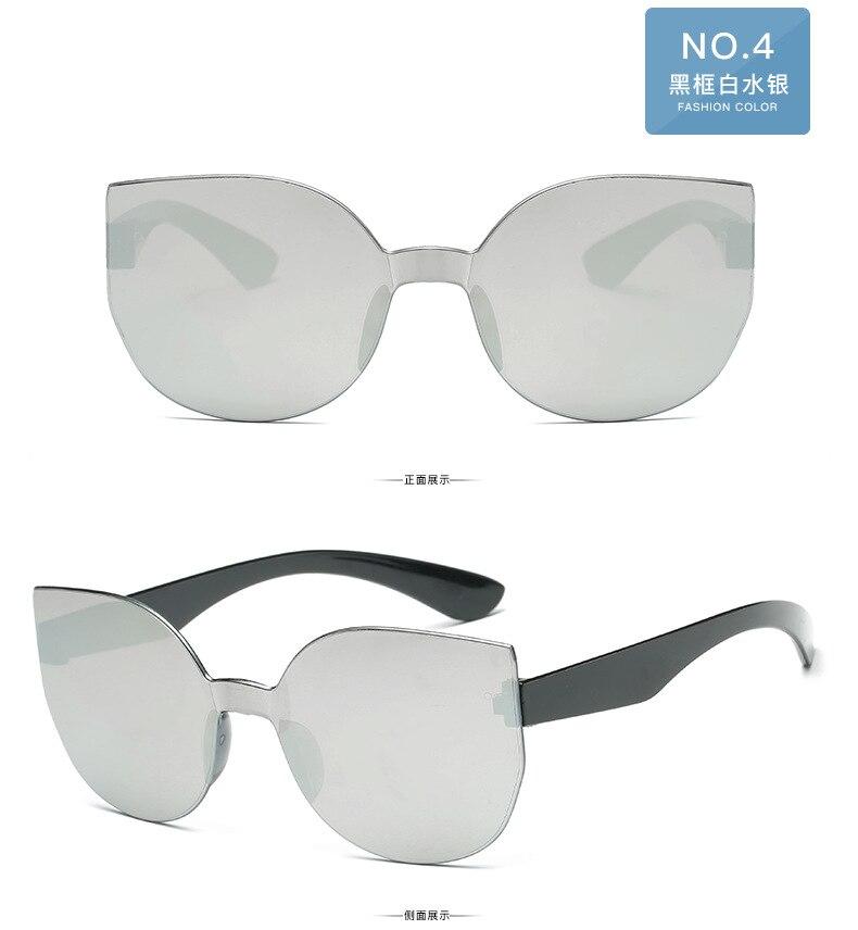 UCOOL 2018 Fashion Square Rimless Sunglasses Women Vintage Brand Designer Coating Sun Glasses UV400 (5)
