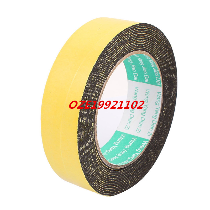 30mm x 1mm Single Sided Self Adhesive Shockproof Sponge Foam Tape 5M Length 10m 40mm x 1mm dual side adhesive shockproof sponge foam tape red white