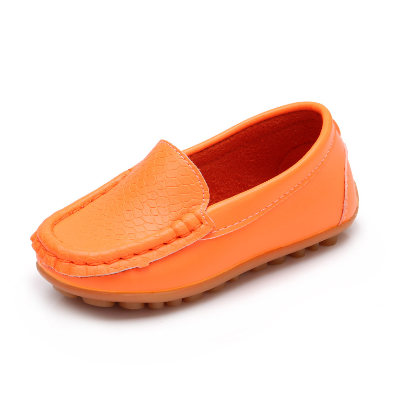 Children's Shoes PU Leather Toddler Boys Loafers Anti-Slip School Shoes For Girls Shoes Boys New Comfort Casual Shoes Autumn