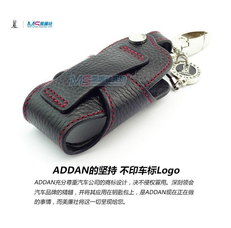 Новое поступление ADDAN, натуральная кожа, автомобильный брелок, чехол для TOYOTA Alphard Reiz, черный цвет, дистанционный автомобильный брелок, автомобильные аксессуары