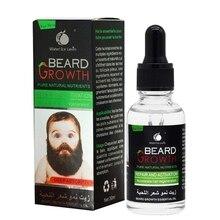Men Beard Growth Serum Nourishing Beard Anti-Dandruff Anti-Static Plant Nutrient