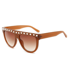 New Fashion Square Sunglasses Luxury Brand Designer Retro St