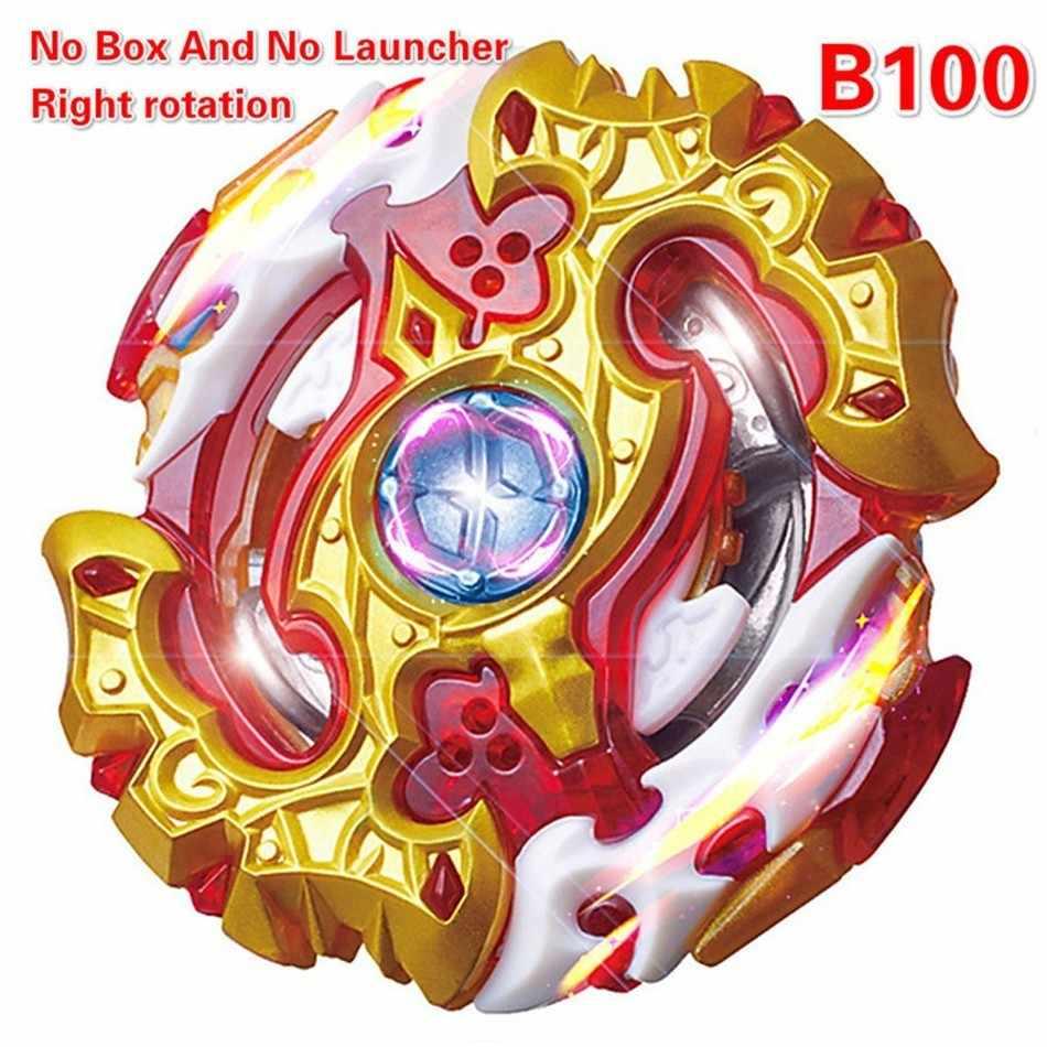 جديد مضحك الفرح B-100 Beyblade انفجار كاتب Bey شفرة شفرات معدنية الانصهار Bayblade مع قاذفة عالية الأداء تقاتل