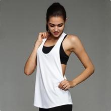 Womens Yoga Shirts Woman Running Vest Cool Gym Shirts Yoga Apparel Tank Tops Fitness Clothes Ladies