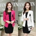 free shipping women clothes set 2016 autumn new fashion women suits Korean women OL long sleeve 2 piece set women dress suit