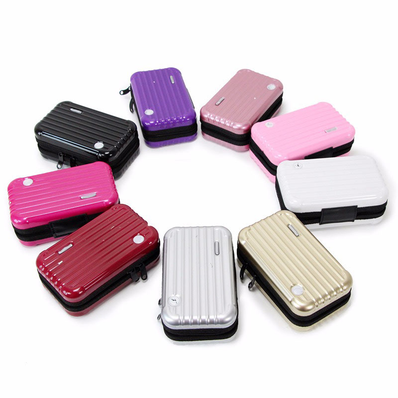 Luggage Design Travel Cosmetic Bags Makeup Organizer Case Brushes Lipstick Toiletry Storage Box AIC88