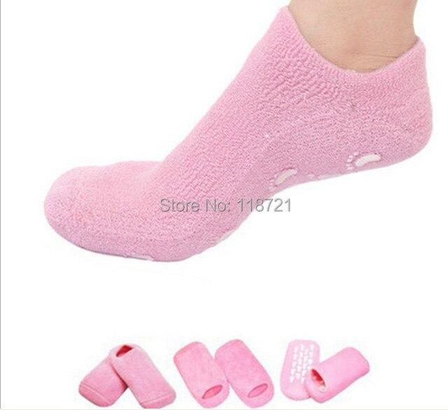 le magasin aliexpress acheter pas cher € 6.06 |2 pcs/lot (1 paire spa chaussette) SPA Gel Hydratant chaussette  faire votre pieds look frais et nourrissant dans Accolades et Supports de  ...