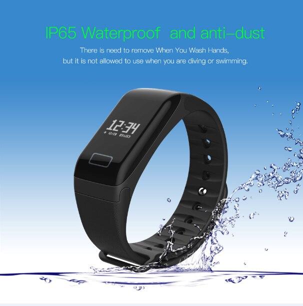 L8star оригинальный сердечного ритма Фитнес трекер Смарт Браслет часы сна Мониторы <font><b>Bluetooth</b></font> наручные часы Водонепроницаемый черный
