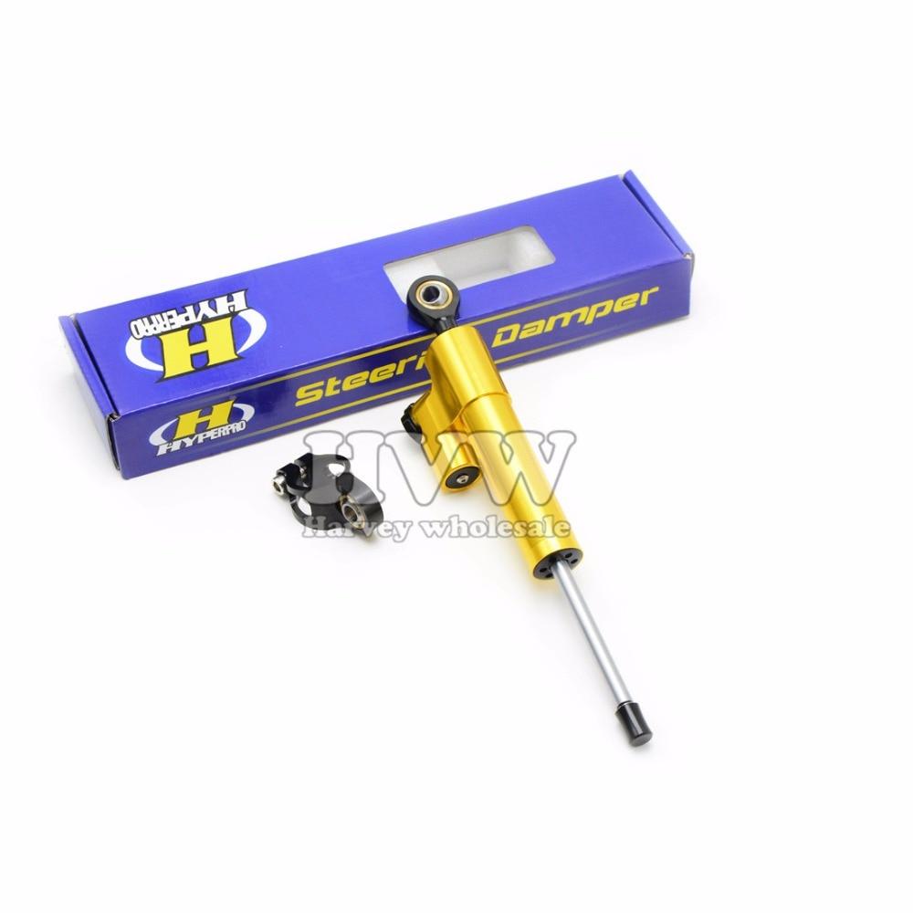 Motorcycle Accessories CNC High quality aluminum Steering Stabilizer Damper kit for  Suzuki GSF 600S BANDIT GSX-R GSXR 600 750