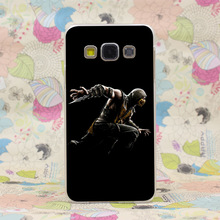 710HJ Mortal Kombat X Scorpion Geek Hard Transparent Case Cover for Galaxy A3 A5 7 8 J5 7 Note 2 3 4 5 & Grand 2 Prime