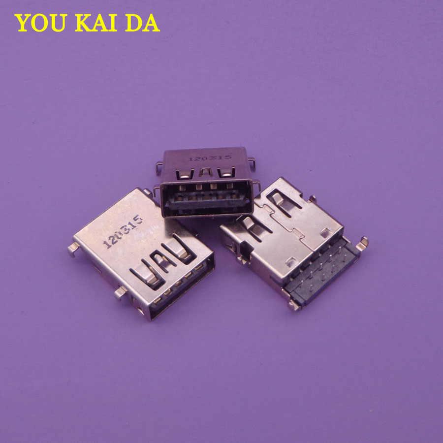 5-100 шт./лот Женский USB разъем для Lenovo Acer ASUS материнская плата для ноутбука 3.0 USB интерфейс, и т. д.