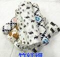 Cama Cobertor do bebê Recém-nascidos Swaddle Envoltório Infantil Gaze de Algodão Swaddle Cobertor Cobertor Criança Cama Cama Capas de cama quente
