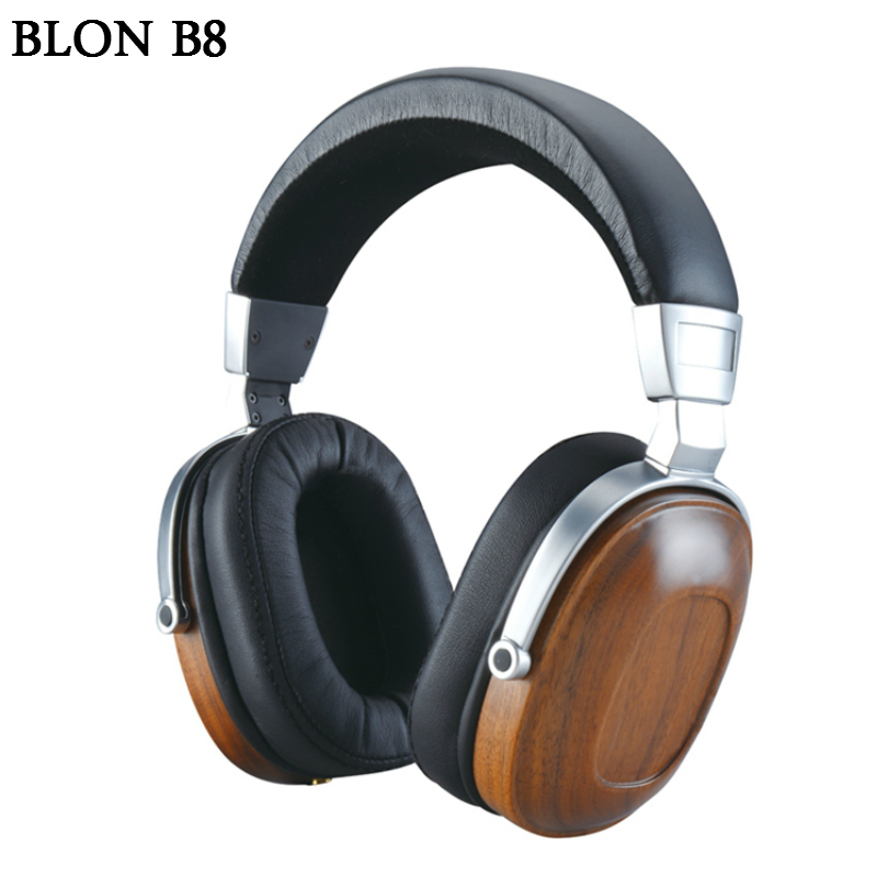 Здесь продается  2017 original BLON B8 Wooden Stereo Bass Headset HIFI Music Monitor Headphones 3.5mm Universal Headphone For Phone Computer PC  Бытовая электроника