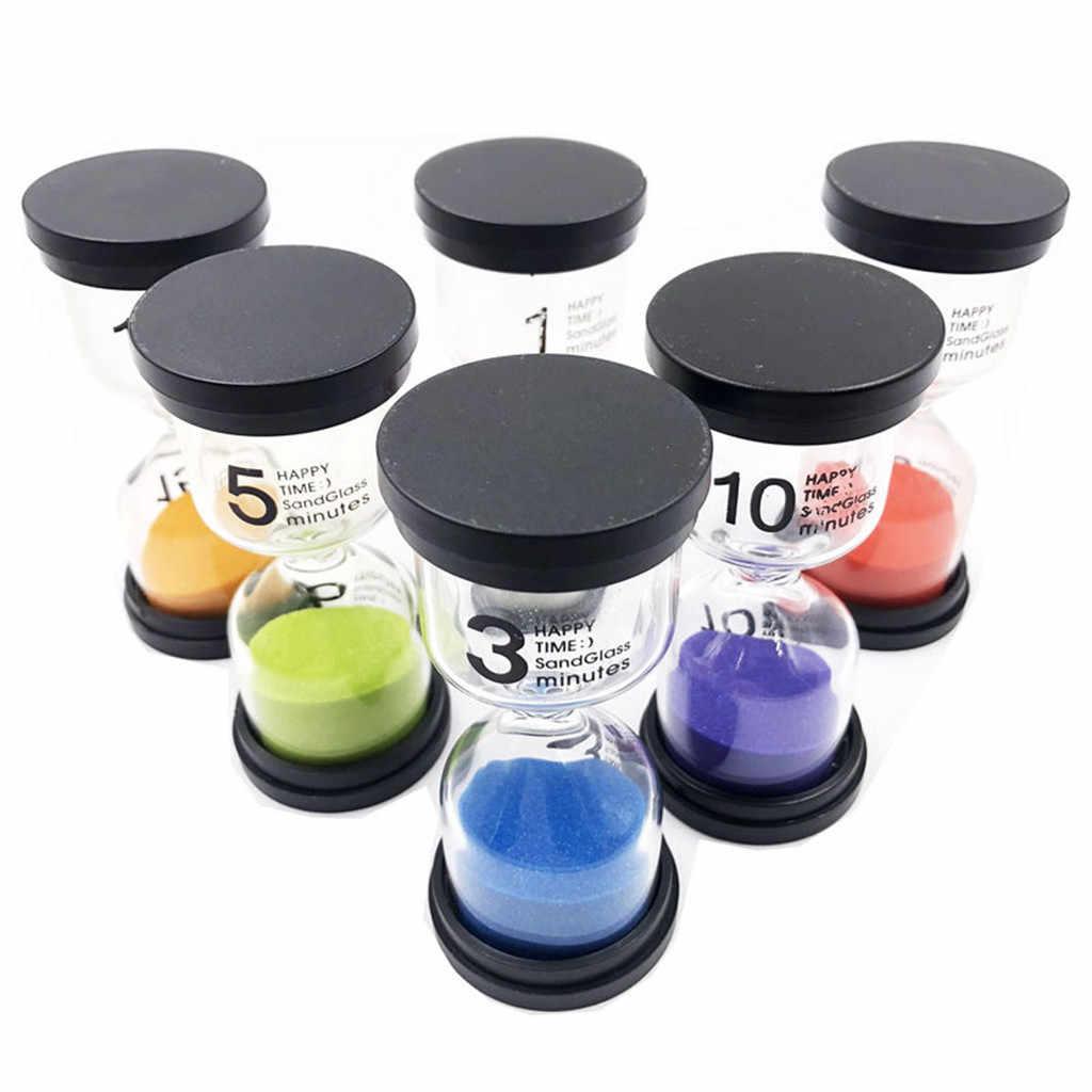 Sand Timer 6 Colors Hourglass Timer 1min / 3mins / 5mins / 10mins / 15mins /30mins Sandglass Timer creative hourglass liquid