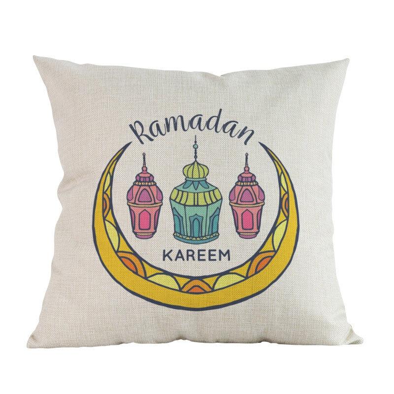 Islam Muslim festival Ramadan kareem Cushion Cover Decoration Home house sofa car chair seat living room pillowcase friend gift