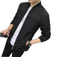 New ZIPPER Jacket Men Fashion Casual Loose Mens Jacket Sportswear Bomber Jacket Mens Jackets And Coats