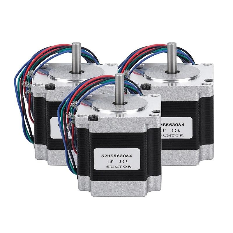4 axes/3 Axes CNC Routeur Kit 4 pièces TB6600 4A pilote de moteur pas à pas + Nema23 Moteur 57HS5630A4 + 5 Axes carte D'interface + Alimentation - 2