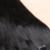 Grampo em Extensões de Cabelo Humano Clipe Reta Peruano em Cabelo extensões de cabelo Natural Clipe 1b em Extensões de Cabelo Humano Para Preto mulheres