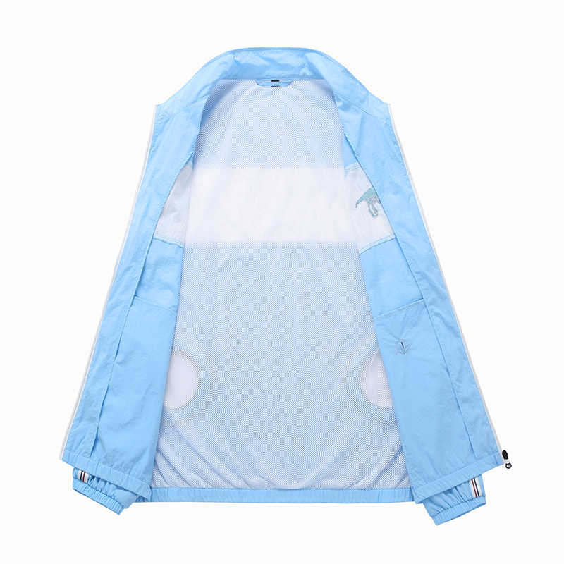Sun Protective Air Conditioning Clothes Men Waterproof Hiking Windbreaker Smart USB Fan Fast Cooling Jackets Fishing Trench Cool
