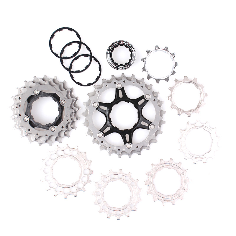 SHIMANO CS 9000 DURA-ACE Cassette Free Wheel Bicycle Derailleur System Road Bike Accessory Component PARTS road bike chain ring bicycle flywheel cassette tool parts 11speed 105 ultegra dura ace for 1x and 2x drivetrain systems