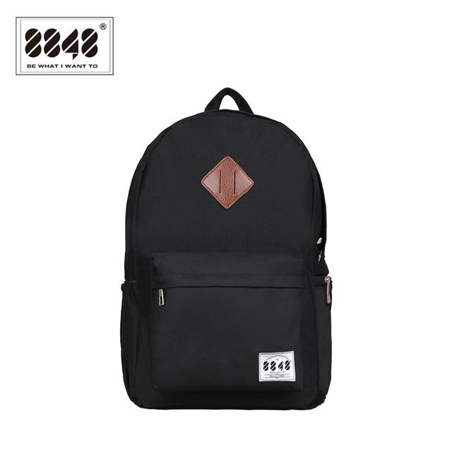 8848 marca mochila homens mochila de viagem resistente oxford material impermeável mochila sapato da moda bolso mochila d020-3