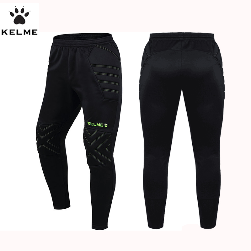 New Mens Survetement Football Pants Soccer Training Active Trousers Sport Running Protector Goalkeeper Sweatpants K15Z408L