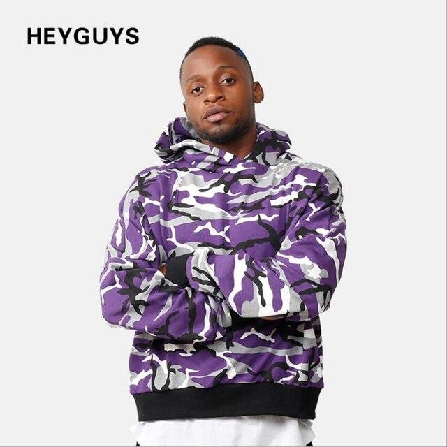 6f4653982fedf HEYGUYS Autumn spring camouflage hoodie men high street wear pullover Men  men Hip Hop Street wear wear Clothing fleece clothes