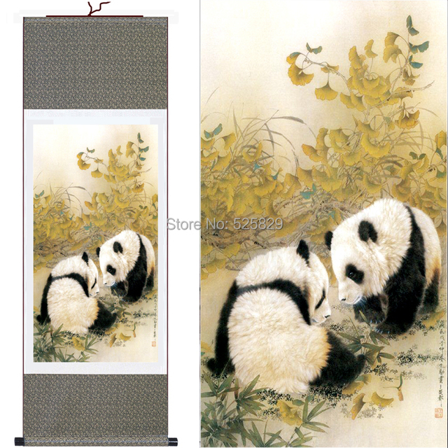 Hot Sale! High Quality Wall Art Home Decoration Panda Wall Picture ...