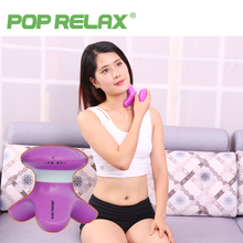 POP RELAX Mini vibrator head scalp massager wireless electric back massage neck vibrating cellulite health care lady massagers