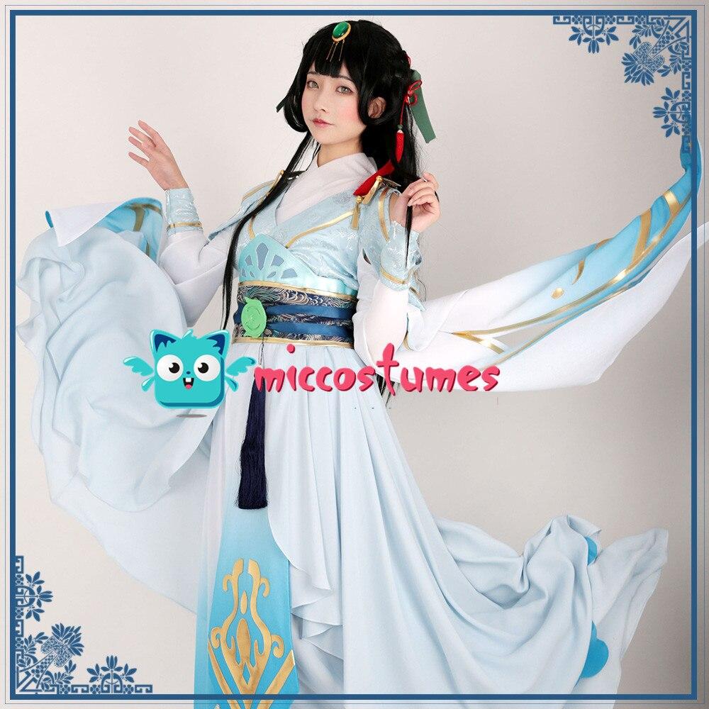 Home Delicious Women Hanfu Anime Wo Zai Huang Gong Dang Ju Ju Wei Yiyi Chinese Dress Traditional Beneficial To Essential Medulla