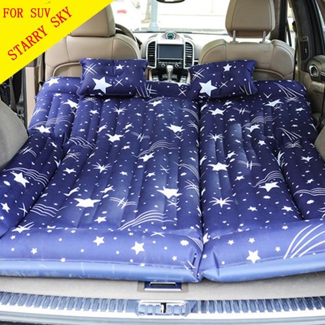 Heavy Duty Air Mattress >> Heavy Duty Car Travel Bed Camping Air Bed Camping Mat Flocked Air