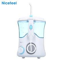 Nicefeel FC169 Oral Irrigator Dental Flosser Water Jet Teeth Care Cleaner Oral Hygiene Set 7 TIPS 600ml Irrigation