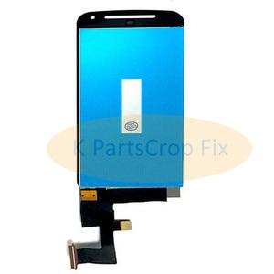 Image 2 - G2 lcd dla Motorola MOTO G2 LCD XT1063 XT1064 XT1068 XT1069 wyświetlacz ekran dotykowy Digitizer + rama Bezel zgromadzenie
