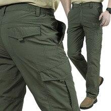 Pockets Lightweight Quick Dry Outdoor Waterproof Hiking Pants Men Mountain Climbing Trousers Camping Trekking Fishing Sport Pant стоимость