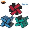 Lo nuevo 2 Capa de Molino de viento Perfilada Irregulares Cubo Mágico Puzzle Cube Velocidad de Giro Suave de Juegos Para Niños Juguete Educativo Del Regalo Del Cabrito 48